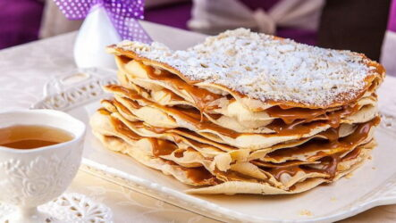 Торт Степка-растрепка — 6 рецептов сладкого угощения с кремом