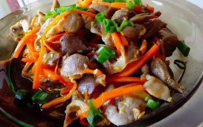 Куриные желудки по-корейски— 7 отличных рецептов с фото