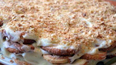 Наполеон из печенья — 7 рецептов, как приготовить торт за 15 минут