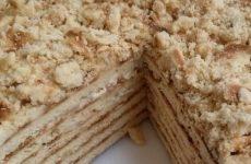Торт Наполеон на сковороде — 6 простых фото-рецептов быстро