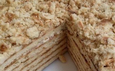Торт Наполеон на сковороде— 6 простых фото-рецептов быстро