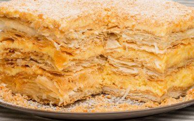 7 простых рецептов Наполеона— для быстрого приготовления торта