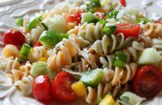 Салат с макаронами— 8 фото-рецептов в итальянском стиле
