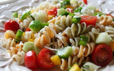 Салат с макаронами — 8 фото-рецептов в итальянском стиле