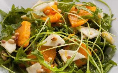 Салат из тыквы— 8 самых интересных рецептов с фото