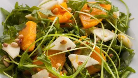 Салат из тыквы — 8 самых интересных рецептов с фото