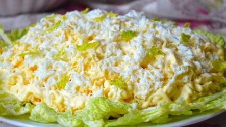 Салат Воздушный — 8 оригинальных рецептов