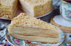 Советский торт Наполеон— 6 рецептов классического угощения