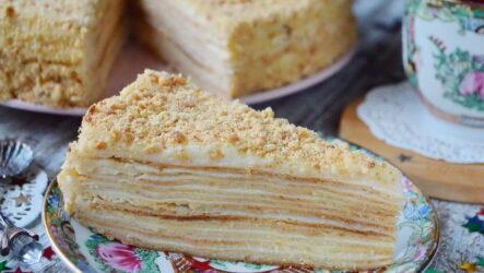 Советский торт Наполеон — 6 рецептов классического угощения