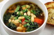 Суп из белой фасоли — 8 вкусных рецептов на каждый день