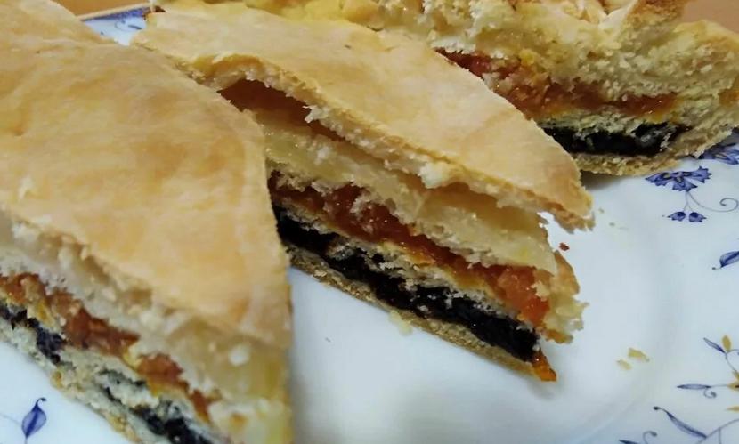 Трехслойный пирог