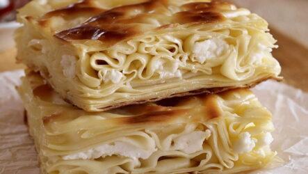 Ачма с творогом — 6 самых вкусных рецептов грузинского пирога