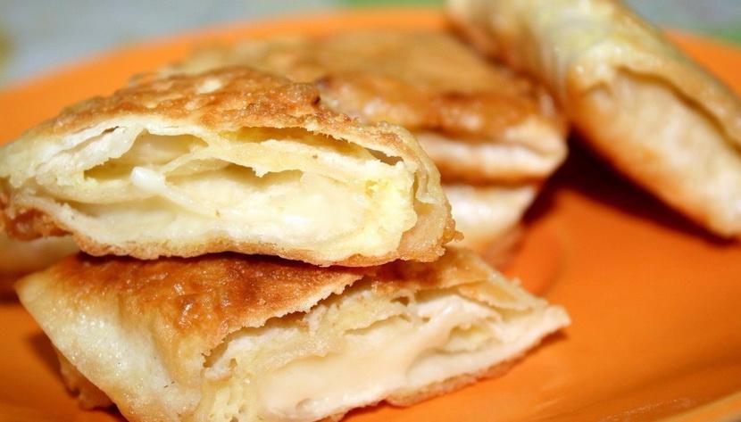 Лаваш с плавленным сыром
