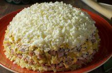 Салат Невеста с плавленным сыром — 7 лучших и любимых рецептов
