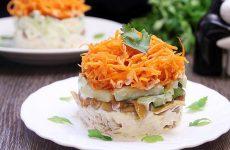 Салат Восторг с курицей— 7 обалденных рецептов