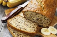 Банановый хлеб — 7 рецептов полезной выпечки