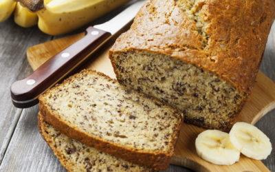 Банановый хлеб— 7 рецептов полезной выпечки