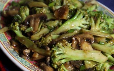 Брокколи с грибами— 8 рецептов прекрасного легкого ужина