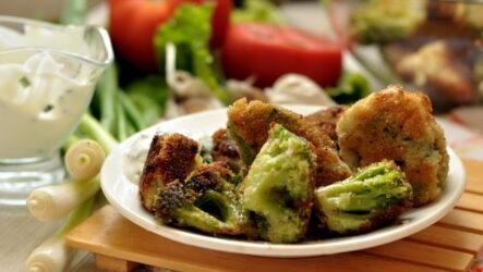 Брокколи в кляре — 7 рецептов отличной закуски