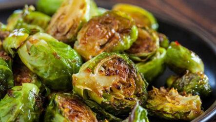 Брюссельская капуста в духовке — 7 рецептов с фото