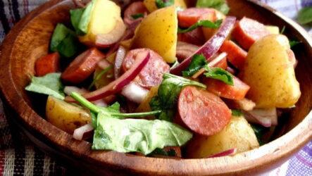 Картофельный салат: 8 самых вкусных рецептов