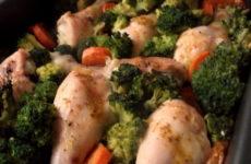 Курица с брокколи в духовке — 7 рецептов изумительного ужина