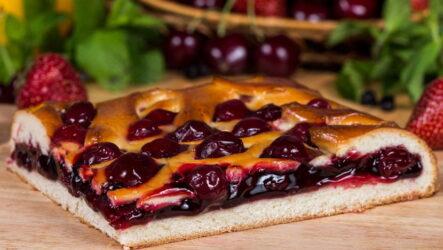 Вишневый пирог — 8 самых лучших и любимых рецептов