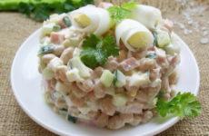 Салат с ветчиной и фасолью — 8 классных рецептов с фото