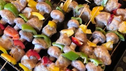 Шашлык в духовке на шпажках — 7 фото-рецептов домашнего угощения
