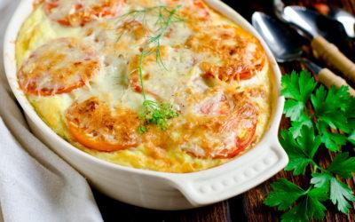 Запеканка с помидорами и сыром— 7 рецептов, как готовить дома