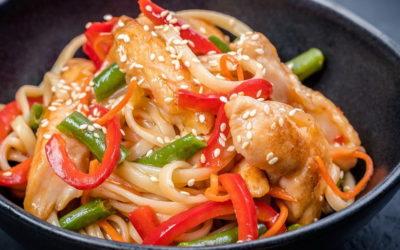 Лапша удон с курицей — 7 рецептов по-восточному