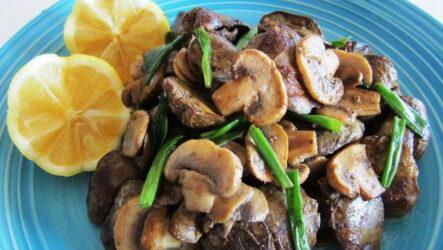 Печень с грибами — 9 рецептов для сочного ужина