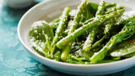 Салат из спаржи — 7 свеженьких пошаговых рецептов