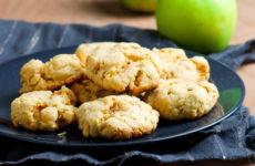 Яблочное печенье — 8 самых вкусных рецептов