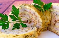 Куриный рулет с сыром — 7 рецептов на любой вкус