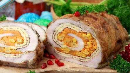 Рулет из куриной грудки — 8 рецептов на праздничный стол