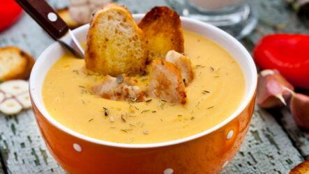 Сливочный суп с курицей — 7 любимых и проверенных рецептов