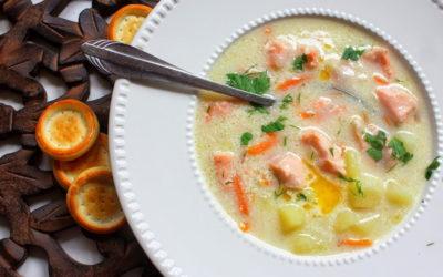 Сливочный суп с лососем — 8 домашних рецептов
