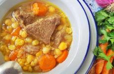 Суп с нутом — 7 самых любимых рецептов