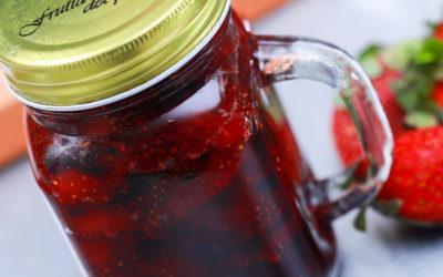Клубничный конфитюр — 6 пошаговых рецептов