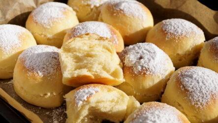 Творожные булочки — 9 рецептов на любой вкус