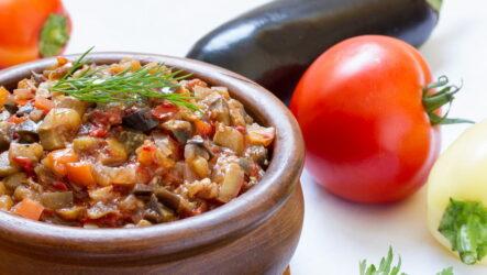 Вкусная баклажанная икра — 8 самых удачных рецептов