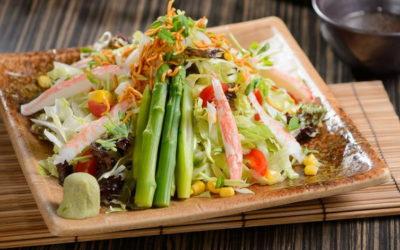Японский салат — 7 разнообразных рецептов