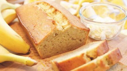 Банановый бисквит — 7 лучших рецептов для пышного тортика