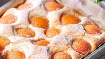 Пирог с персиками — 9 самых вкусных рецептов