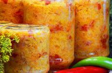 Заправка на зиму с капустой — 6 рецептов для быстрых супов