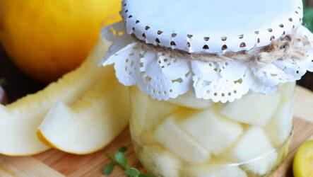 Дыня в сиропе — 6 рецептов для заготовки на зиму