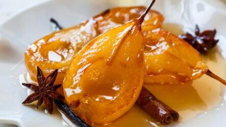 Карамелизованная груша — 7 рецептов идеального десерта