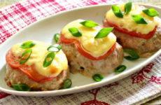 Котлеты с помидорами и сыром — 7 фото-рецептов