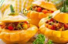 Патиссоны в духовке — 6 рецептов для быстрого ужина